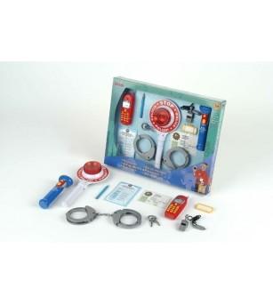 Set 10 accesorii politie - Seturi de pompier si politist