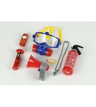 Set 7 accesorii pompier - Seturi de pompier si politist