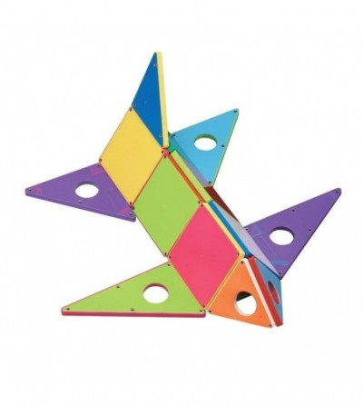Set magnetic Magna-Tiles Geometric Solids - 33 piese - Jucarii magnetice