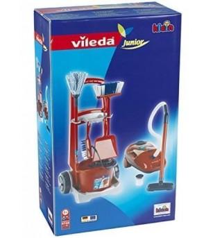 Set carucior pentru menaj si aspirator Vileda - Seturi de menaj si bricolaj copii