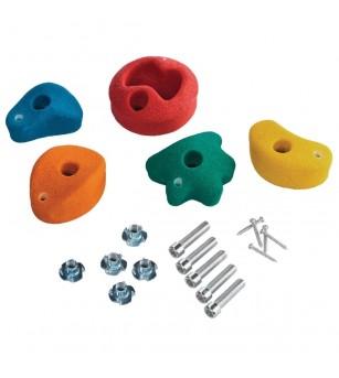 Set Escalada KBT Mic, 5 culori - Locuri de joacă