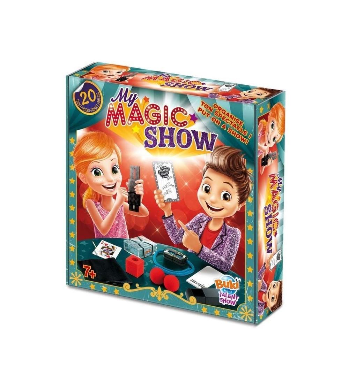 Set magie Buki France - Spectacolul meu de magie - Set magie copii