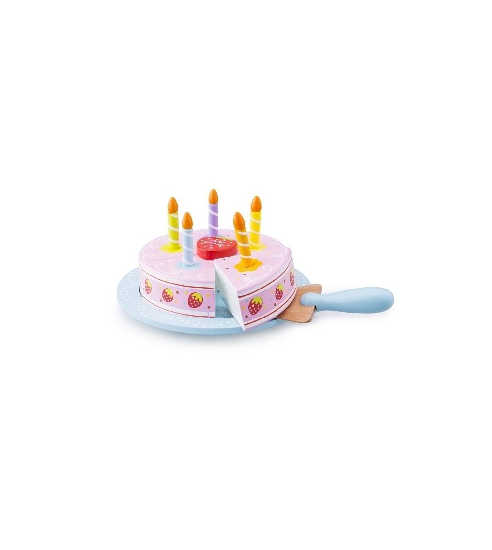 Tort aniversar New Classic Toys - Jucării de lemn si Montessori