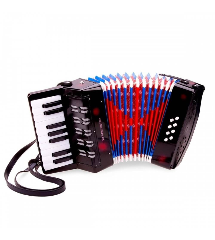 Acordeon mare - Negru - Instrumente muzicale
