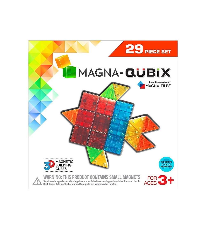 Set magnetic Magna-Qubix - 29 piese