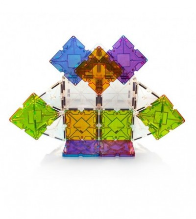 Set magnetic Magna-Tiles Freestyle cu magneti mobili - 40 piese - Jucarii magnetice