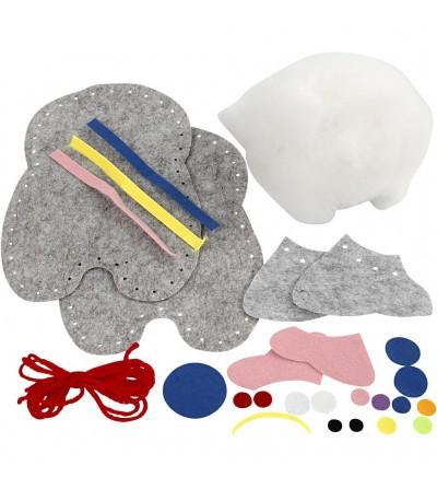 Set creativ - Kit animalut fetru DIY - elefant - Lucru manual