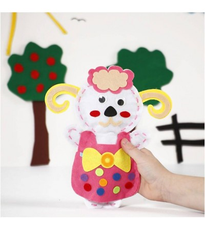 Set creativ - Kit animalut fetru DIY - oita - Crafturi