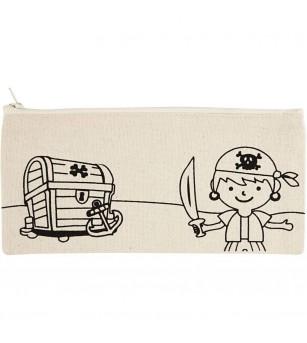 Penar panza pentru colorat - model Pirati - Desen și pictură