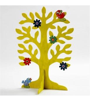 Copac din placaj de lemn de 2 mm - Crafturi