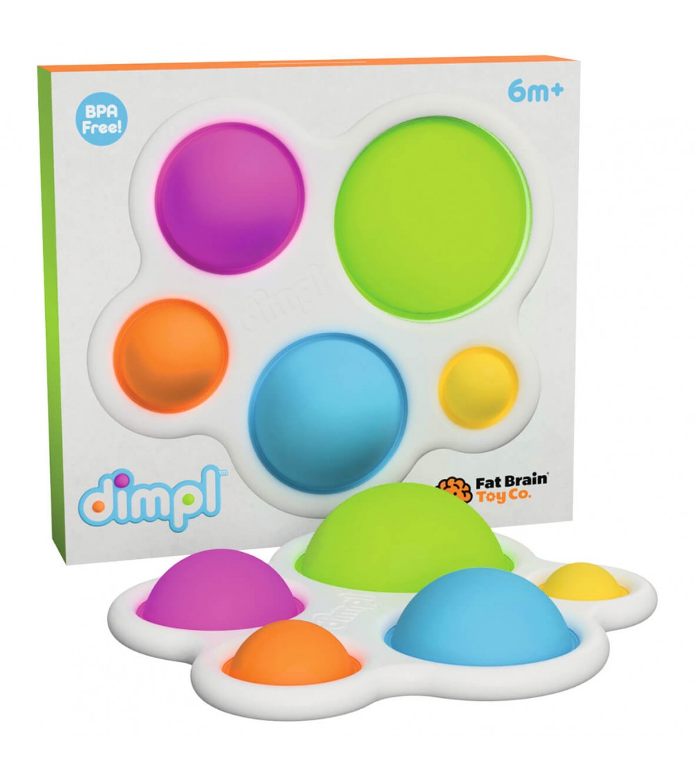 Jucarie senzoriala Dimple - Fat Brain Toys