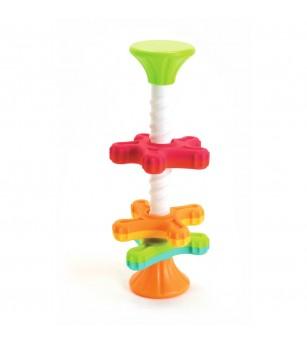 Jucarie motricitate MiniSpinny Fat Brain Toys - Jucării bebeluși