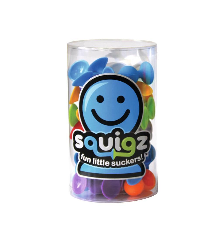 Joc de constructie Fat Brain Toys Squigz Starter - Set 24 piese