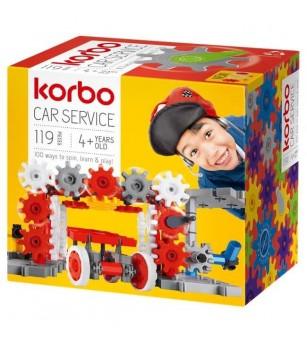 Set KORBO Car Service 119 - Jocuri construcție