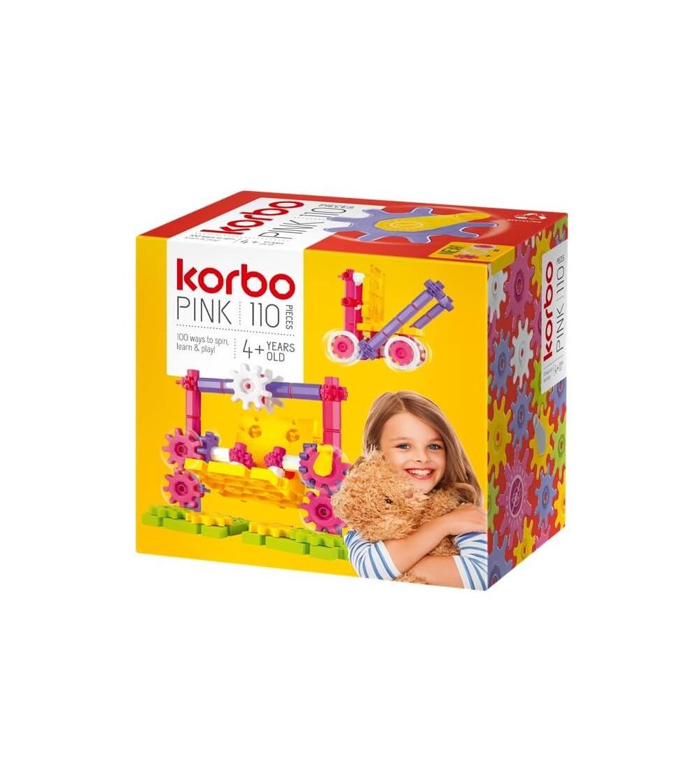 Set KORBO Pink 110 - Jocuri construcție
