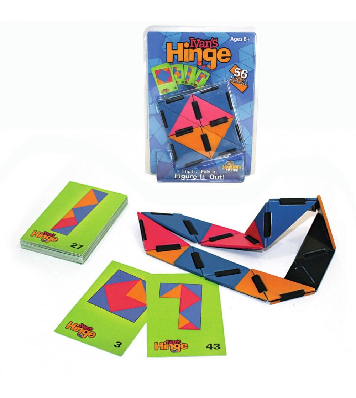 Joc de inteligenta Fat Brain Toys Ivan's Hinge - Logică