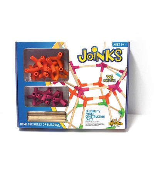 Joc de constructie Joinks 76 de piese Fat Brain Toys - Jocuri construcție
