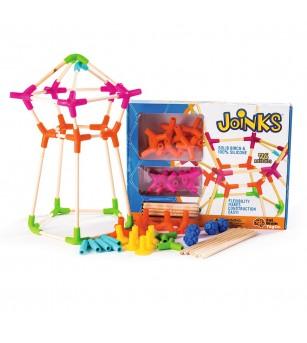 Joc de constructie Joinks 76 de piese Fat Brain Toys
