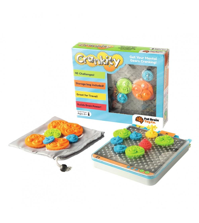 Joc de inteligenta Fat Brain Toys Crankity - Logică