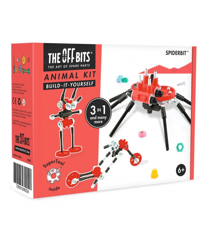 Kit de construit OFFBITS Spiderbit - Jocuri construcție
