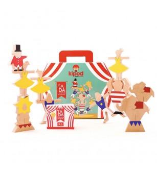 Joc de echilibru din lemn Ta-Da - Kipod Toys