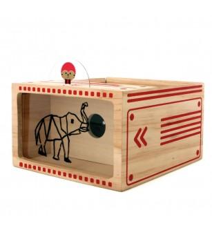 Joc proiector din lemn Grafitape, Kipod Toys - Desen și pictură