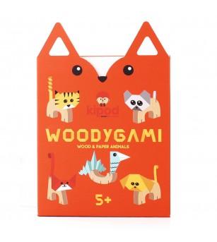 Joc din lemn WoodyGami, Kipod Toys - Jucării de lemn si Montessori