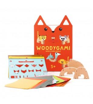 Joc din lemn - WoodyGami - Kipod Toys