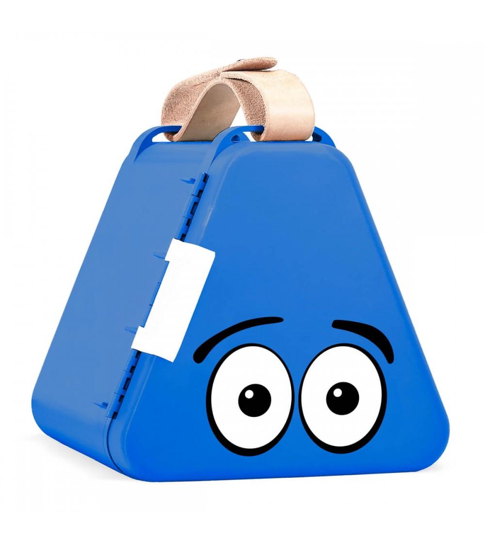 Cutie de jucarii pentru calatorii Teebee - Albastru