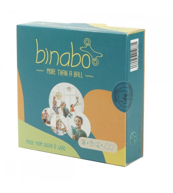 Joc constructie Binabo Albastru - 36 piese