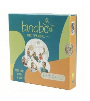 Joc constructie Binabo Mixed 60 piese - Jocuri construcție