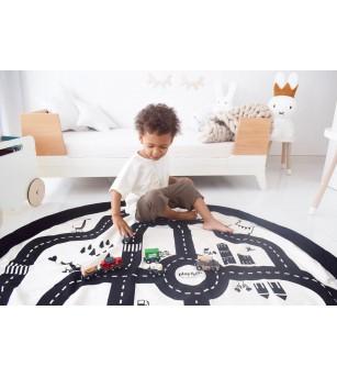 Sac 2 in 1 pentru joaca Play&Go Roadmap - Organizare
