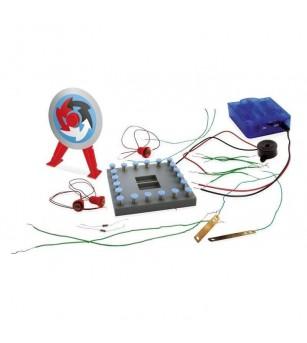 Joc educativ Buki France - Atelierul de electricitate, 22 circuite - Știință și tehnică